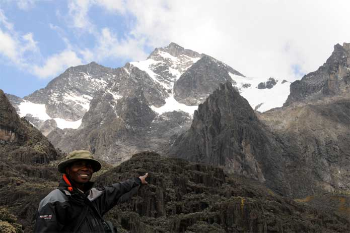 Rwenzori Mountain Range