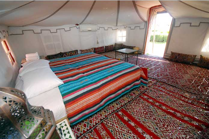 Double Tent - interior view
