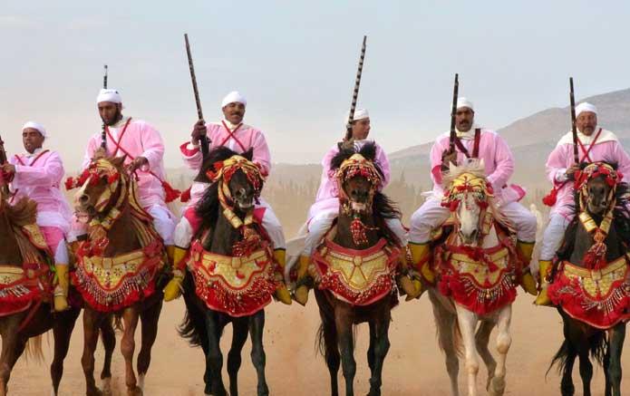 Fantasia Festivel - Oujda, Morocco