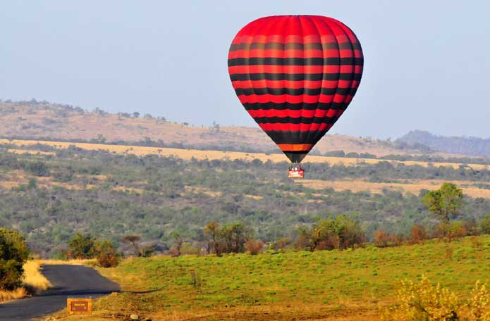 Balloon Flight over Pilanesberg