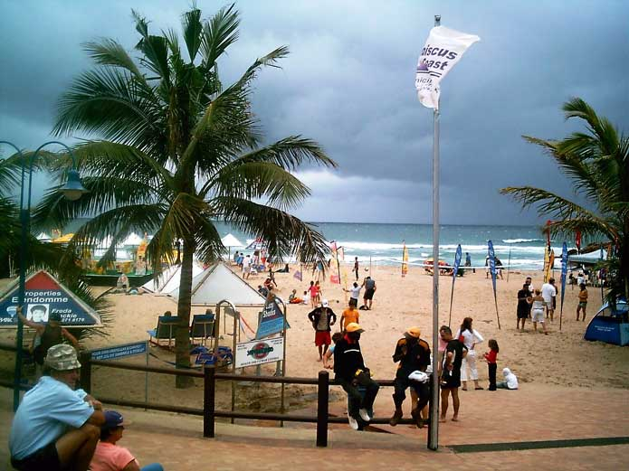 Margate Main Beach, Kwazulu-Natal