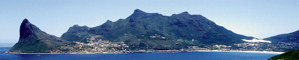 Cape Peninsula - panoramic view of Hout Bay