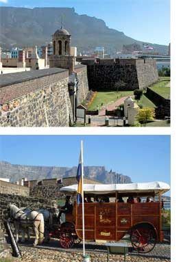 Cape Town's Castle of Good Hope and activities