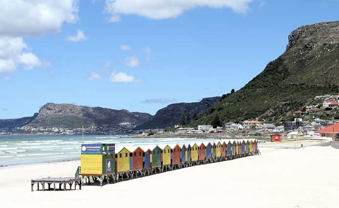 Cape Town - Muizenberg Travel Information