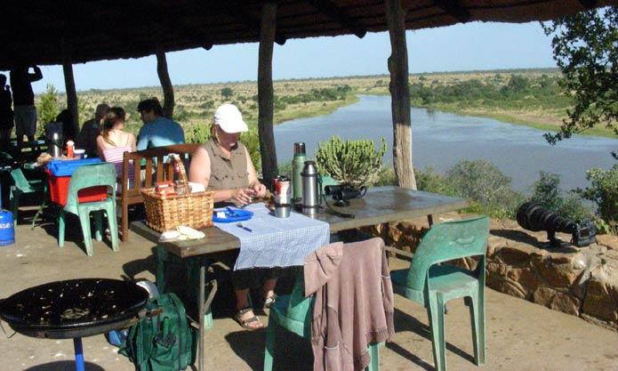 Kruger Park's Mlondozi Picnic Site