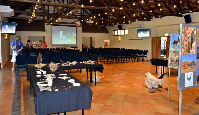 Kruger Park Honary Rangers display at Mopani Camp