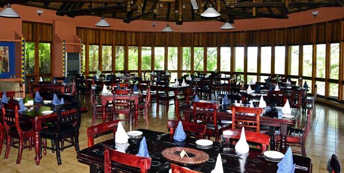 Kruger Park's Mopani Camp Restaurant