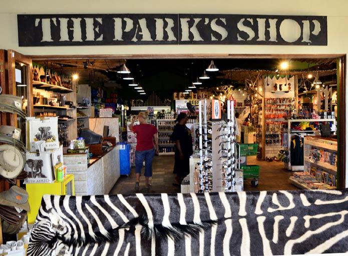 National Park's Olifants Camp Shop