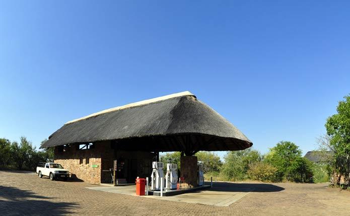 Mopani Camp petrol (gas) station
