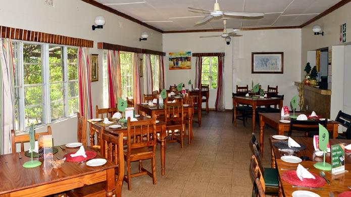 Restaurant at Punda Maria Camp