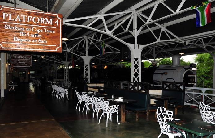 Selati Train Restaurant at Skukuza Camp